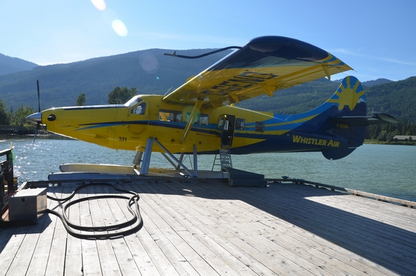 Our float plane.