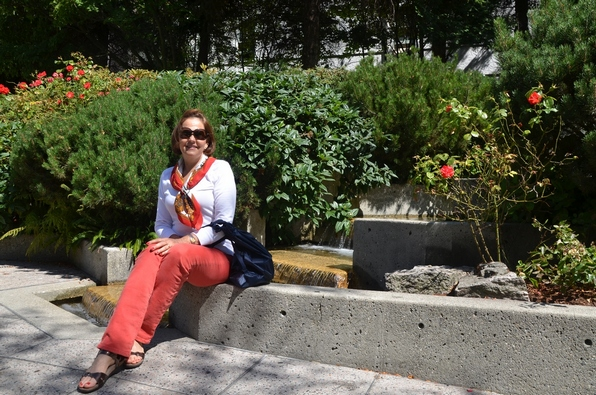 The last day we visited a Chinese garden in Vancouver´s China town.
